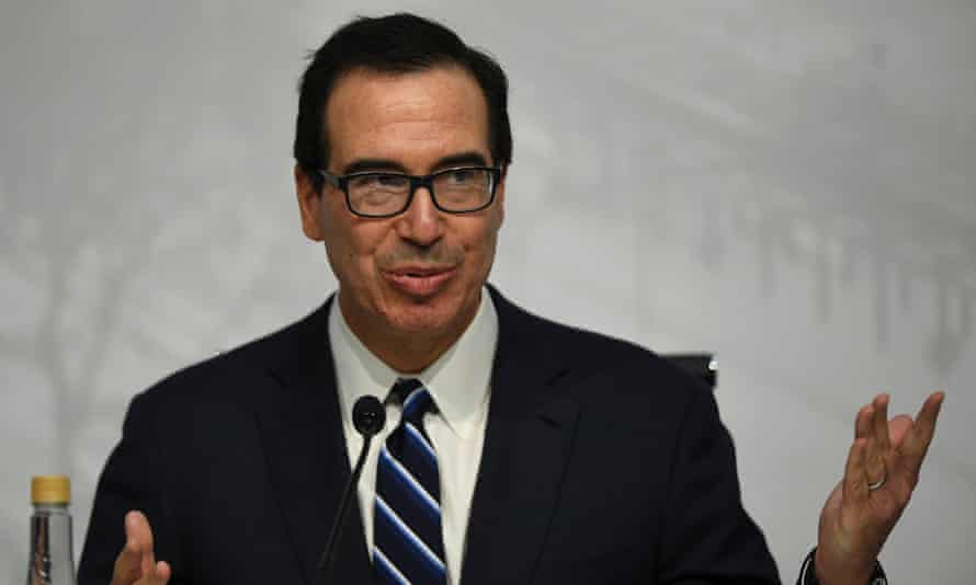 The US treasury secretary, Steve Mnuchin, was upbeat about the prospects of restructuring Nafta.