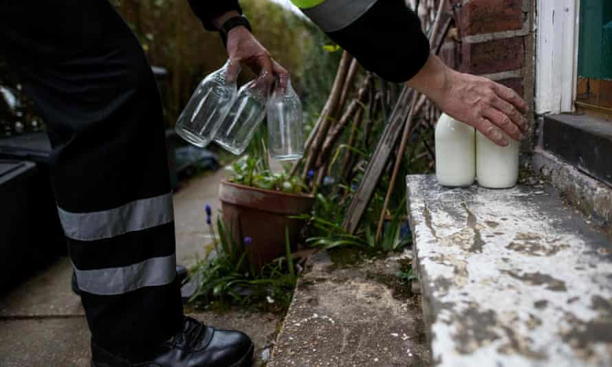 It wasn't until care workers discovered one of their residents had been a milkman for 40 years that they found a way to cope with his habit of getting up in the early hours.