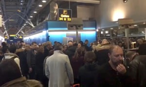 Passengers stranded at Stansted airport