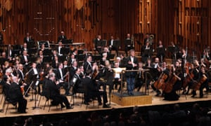 The London Symphony Orchestra at the Barbican Centre in London