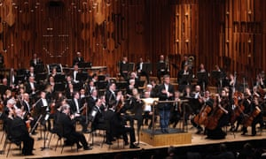 The London Symphony Orchestra at the Barbican Centre, London