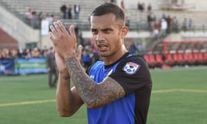 FC Edmonton's Netan Sansara : 'I was never made to feel different by my coaches'.