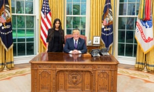 Donald Trump and Kim Kardashian West discussed prison reform and sentencing during a meeting at the White House.