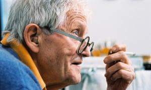 David Hockney, as seen in Tacita Dean's film.