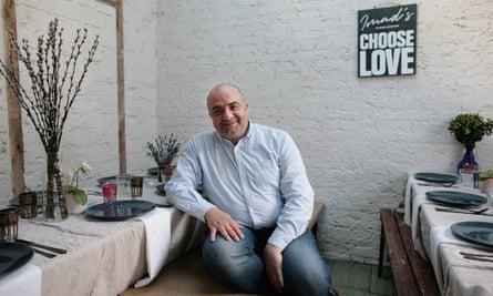 .Imad Alarnab in Imad's Choose Love Kitchen