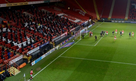 'This is my release': Charlton fans return to the Valley as lockdown lifts