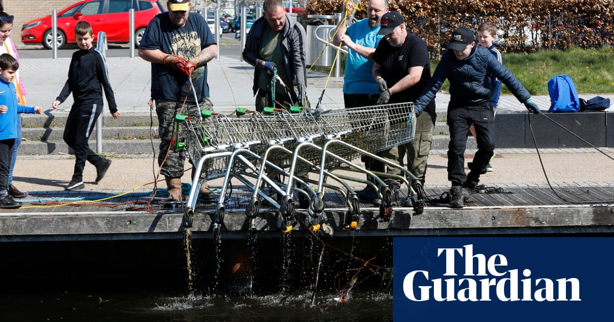 What's the pull? Magnet fishing proves a catch in pandemic Scotland – a photo essay