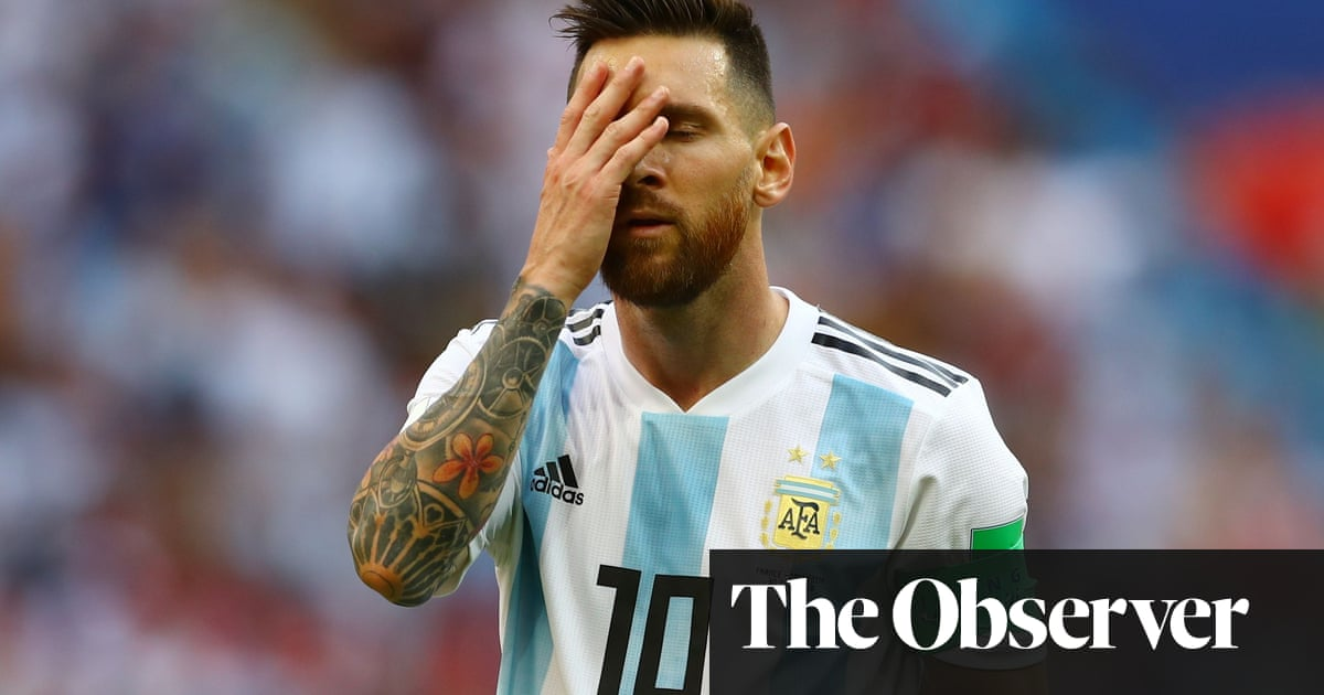 5860f4a6793 Argentina and Messi s World Cup tilt is lost in translation against France