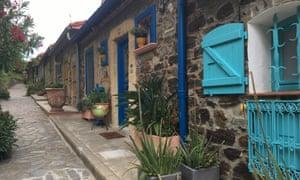 Houses in le Petit Montmartre, Collioure