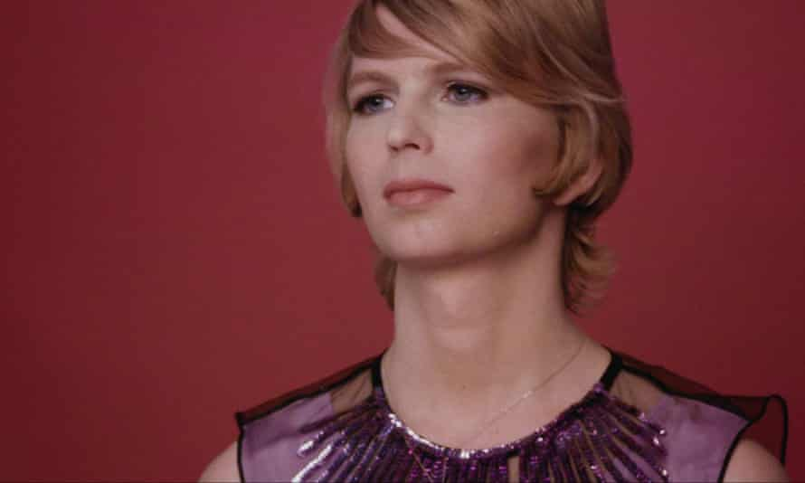 Manning in a still from the documentary XY Chelsea.