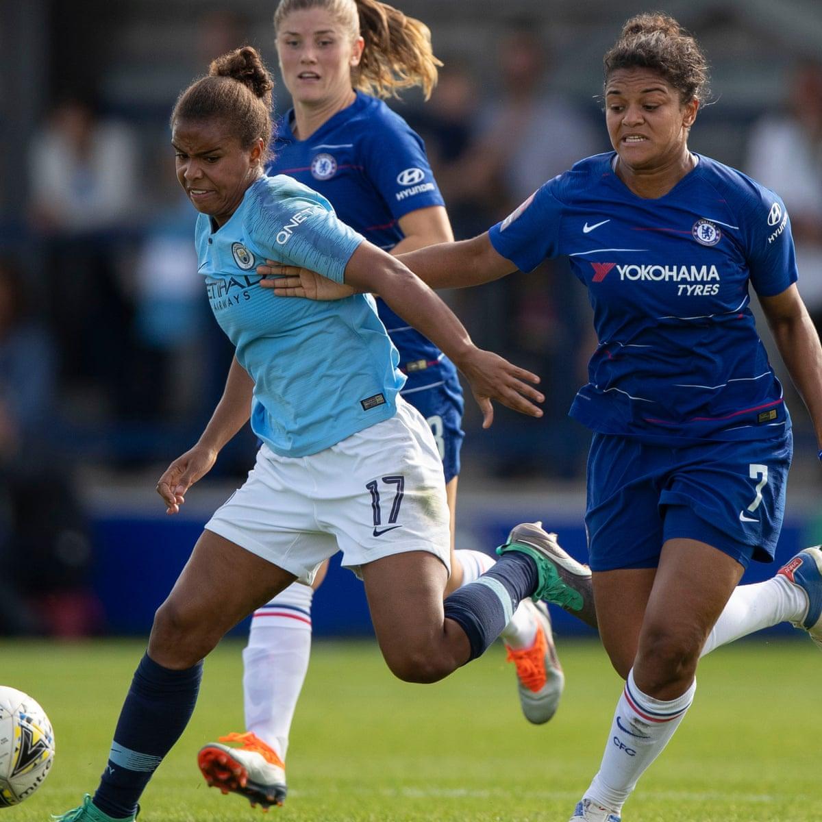 Nikita Parris Ensures Manchester City S First League Win Of Season At Everton Women S Super League The Guardian