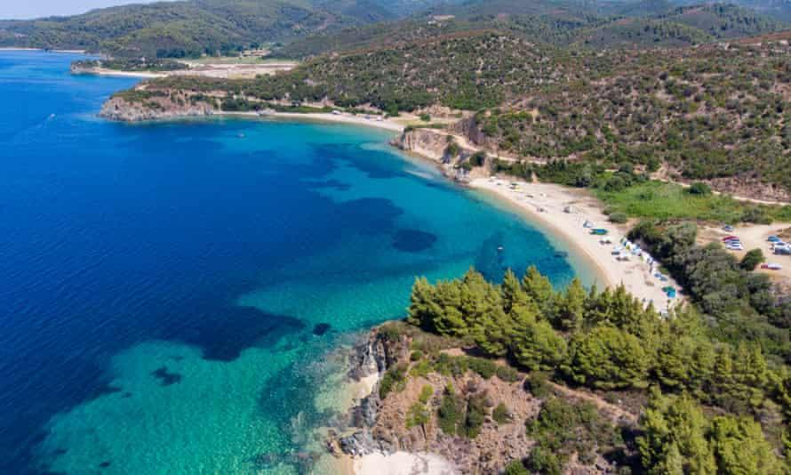 Aretes beach, Halkidiki