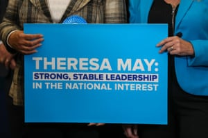 """'""""Strong and stable"""" was not resonating on the doorstep at all.'"""