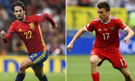Spain v Russia: World Cup 2018 – live!