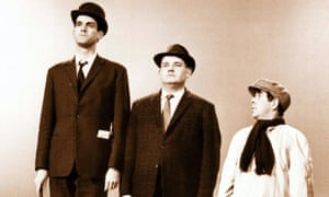 The Frost Report's classic Class Sketch featuring, from left, John Cleese, Ronnie Barker and Ronnie Corbett.
