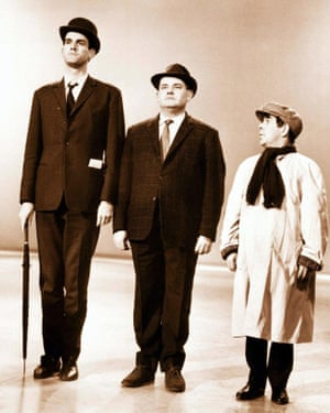 Ronnie Corbett's 'I know my place' sketch with John Cleese and Ronnie Barker traded on his height, about which he had been self-conscious ever since his doctor recommended stretching exercises when he was 15.