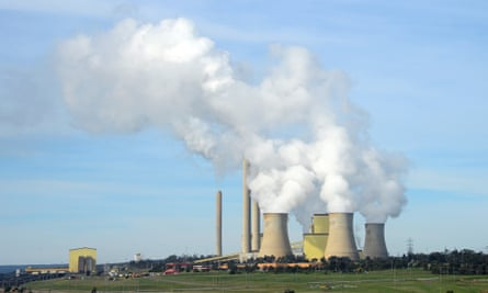 The Loy Yang B coal-fired power station