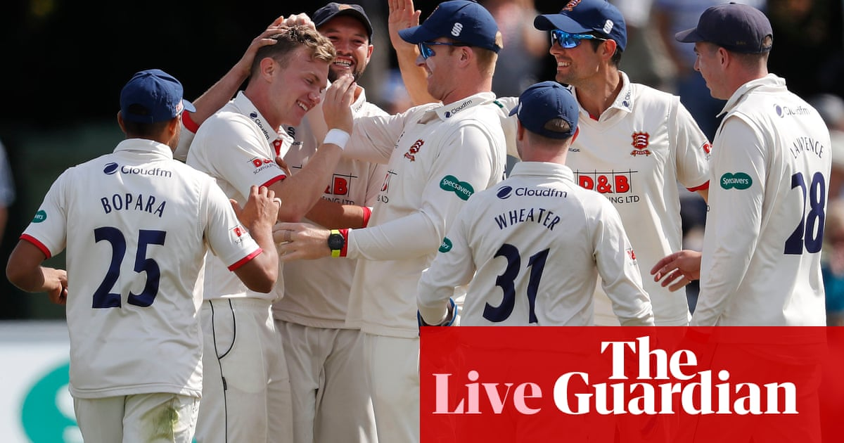 County cricket: Essex win after bowling out Kent for 40 – as it happened