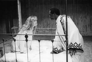 Imogen Stubbs as Desdemona and Willard White as Othello