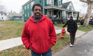 Derek Anderson's family was one of the first African Americans to move in the neighbourhoods.