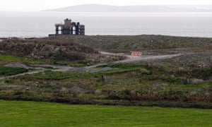The site where EDF Energy's Hinkley Point C nuclear power station will be constructed in Bridgwater, southwest England.
