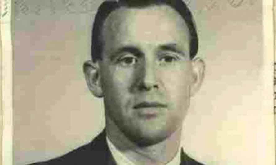 This 1959 image released by the US Department of Justice shows Friedrich Karl Berger, who has been deported to Germany.