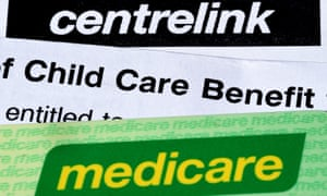 Centrelink and child benefits paperwork