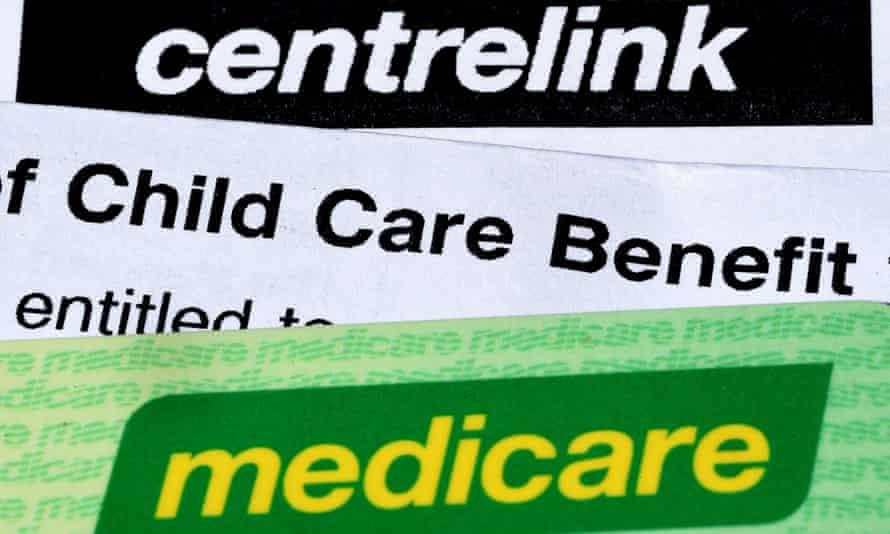 Centrelink and child benefits paperwork