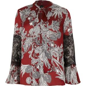 Red paisley, £40, riverisland.com