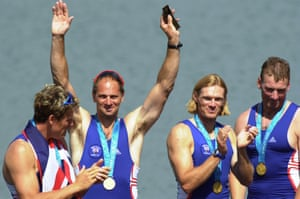 Sydney Olympics. Mens coxless fours final