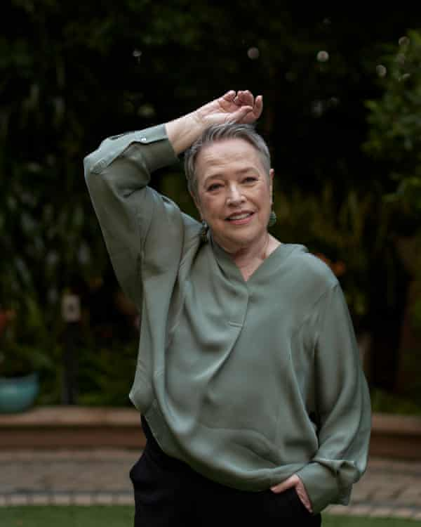 """LOS ANGELES, CALIFORNIA - December 5, 2019: Actress Kathy Bates, poses for a portrait at the Four Seasons Hotel Los Angeles at Beverly Hills, during the promotion of her new film """"Richard Jewell"""". (Photo by Philip Cheung)"""