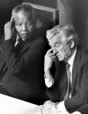 Mandela and Hawke