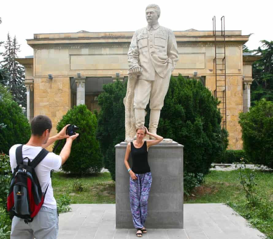 Joseph Stalin statue at the Stalin Museum in Gori