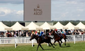 Poet's Word wins the 2018 Prince of Wales's Stakes at Royal Ascot.