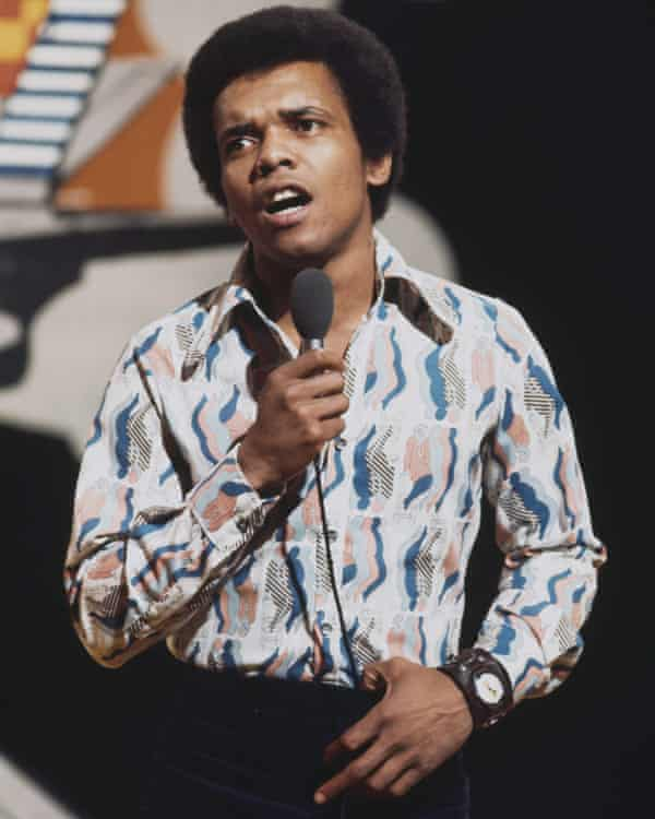 Johnny Nash performs on Top of the Pops in 1972