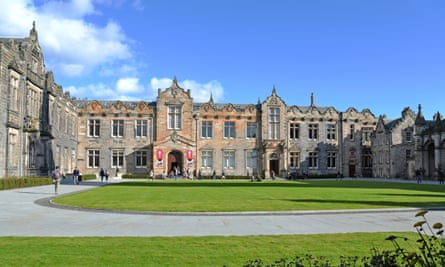 St Salvator's Quadrangle, University of St Andrews.