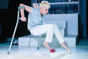 The Scottish dancer and choreographer Claire Cunningham