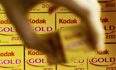 Kodak film. The company's lurch towards bankruptcy in 2012 is profiled in Spectacular Failures.