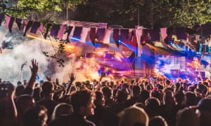 A bridge to Farr: Farr festival debuts its Campfire Headphase stage in 2017.