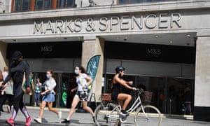 Marks & Spencer store
