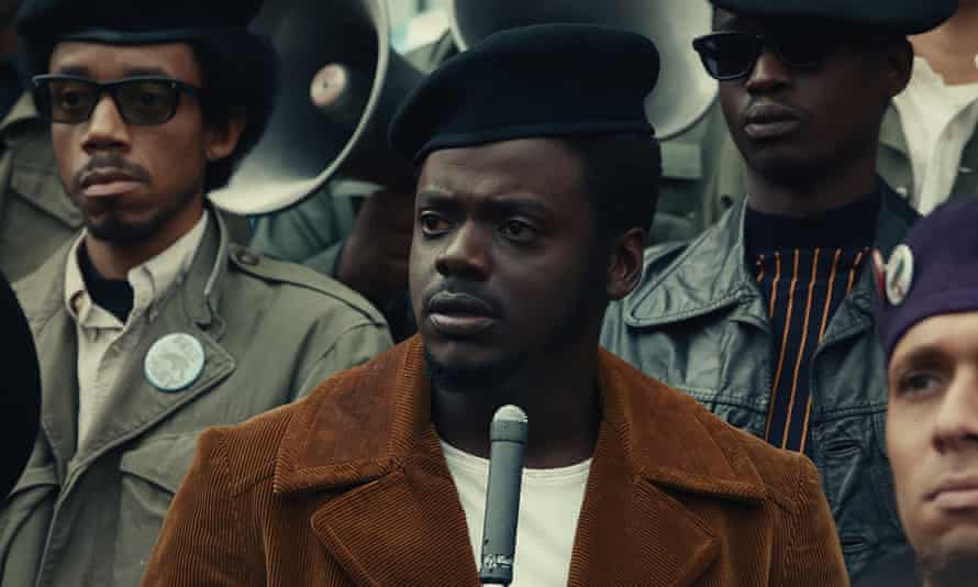 Daniel Kaluuya in his Oscar-nominated role as Chairman Fred Hampton in Judas and the Black Messiah