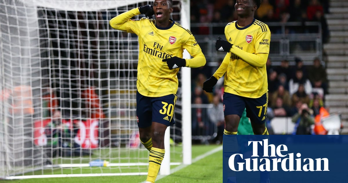 Eddie Nketiah seals Arsenal's FA Cup progress at expense of Bournemouth