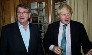 Lynton Crosby with Boris Johnson
