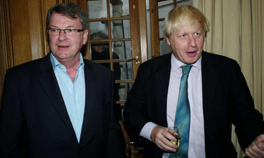 Boris Johnson with Sir Lynton Crosby