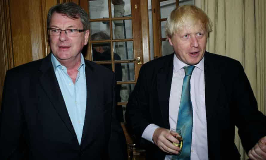 Lynton Crosby and Boris Johnson