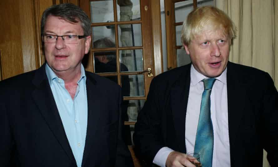 Lynton Crosby and Boris Johnson.