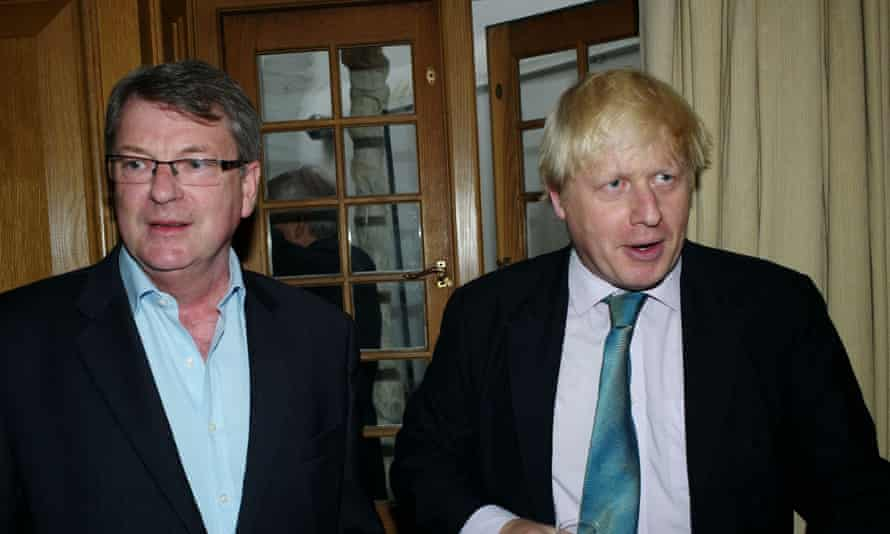 'Lobbying and PR firms have now professionalised online disinformation.' Lynton Crosby, pictured with Boris Johnson.