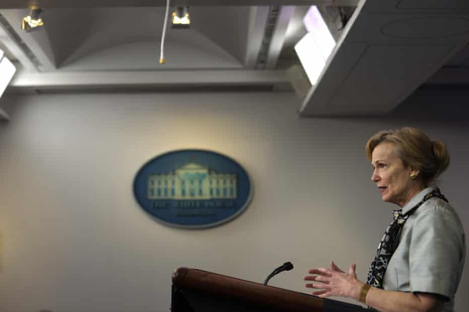 White House coronavirus response coordinator Deborah Birx: 'The really unknown is asymptomatic and asymptomatic spread.'