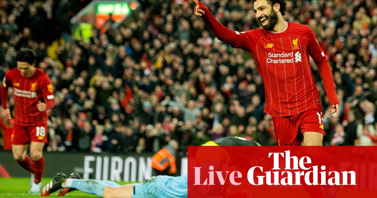 Liverpool 4-0 Southampton, West Ham 3-3 Brighton and more – live!