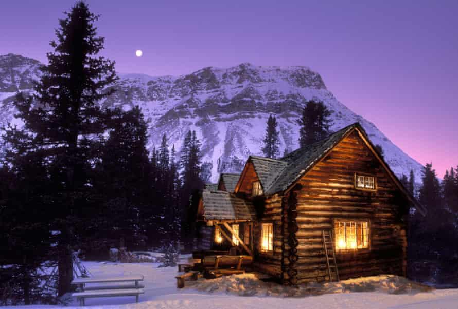 Skoki Cabin at Banff National Park